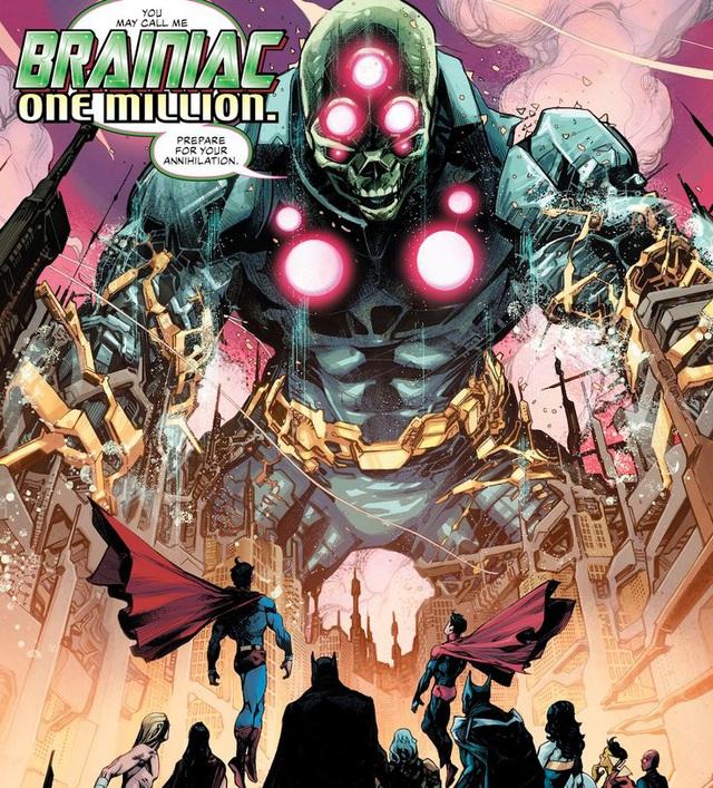 Justice League #36: Brainiac 1 Củ bị biến thành ghế ngồi, Batman lại thể hiện độ chịu chơi - Ảnh 3.