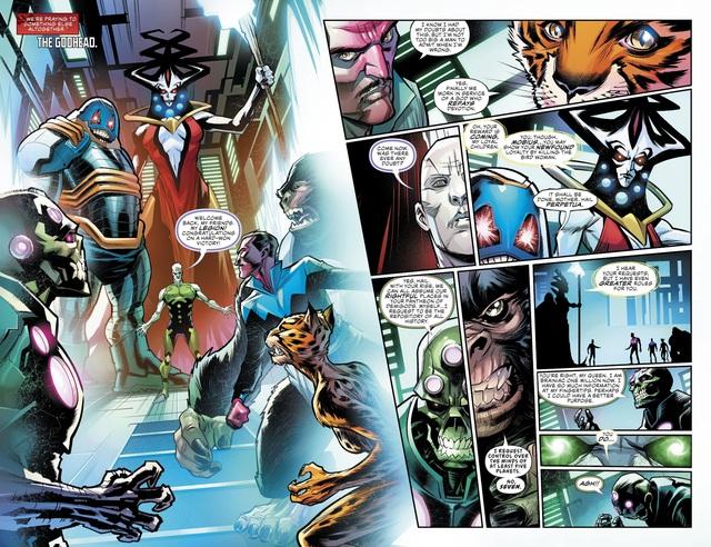 Justice League #36: Brainiac 1 Củ bị biến thành ghế ngồi, Batman lại thể hiện độ chịu chơi - Ảnh 5.