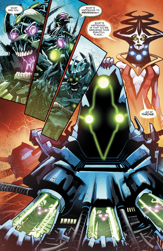 Justice League #36: Brainiac 1 Củ bị biến thành ghế ngồi, Batman lại thể hiện độ chịu chơi - Ảnh 6.