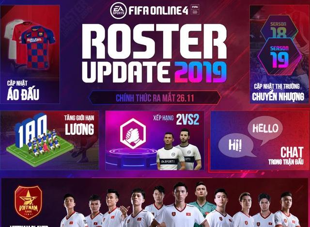Lần đầu tiên FIFA Online 4 chơi lớn tặng miễn phí cầu thủ Việt Nam cho tất cả game thủ đồng hành cùng đội tuyển Việt Nam tại SEA Games 30 - Ảnh 3.