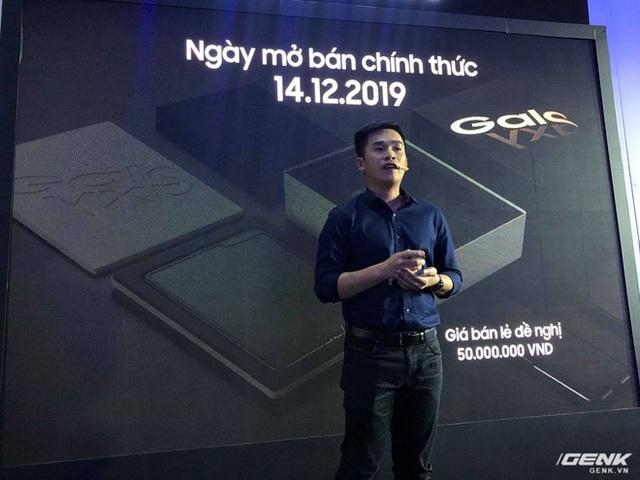 Galaxy Fold ra mắt tại Việt Nam: Giá 50 triệu đồng, hỏng màn hình được thay với giá ưu đãi 3.49 triệu đồng - Ảnh 3.