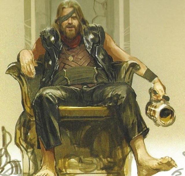 Chết cười khi ngắm loạt ảnh dìm Thần Sấm Bro Thor trong Avengers: Endgame - Ảnh 2.