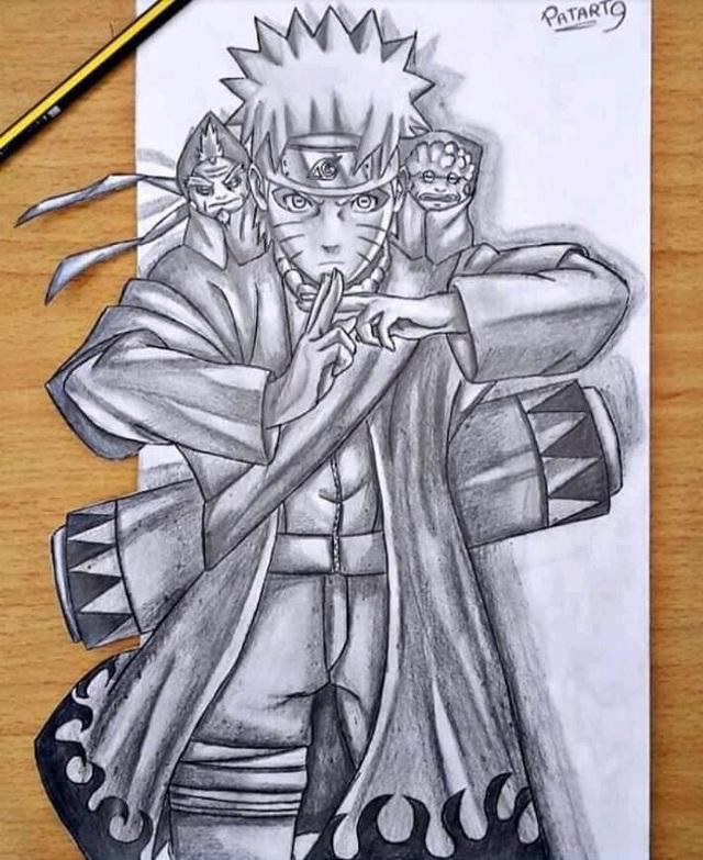 Chiêm ngưỡng bộ ảnh trắng đen theo phong cách 3D đầy ma mị của các nhân vật trong Naruto - Ảnh 12.
