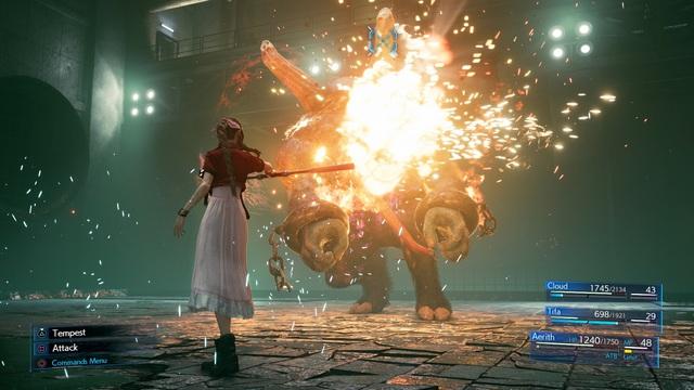 Final Fantasy VII Remake nhá hàng loạt screenshot cực đỉnh, cặp đôi Chocobo & Moogle chính thức xuất hiện - Ảnh 17.