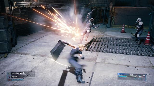 Final Fantasy VII Remake nhá hàng loạt screenshot cực đỉnh, cặp đôi Chocobo & Moogle chính thức xuất hiện - Ảnh 19.