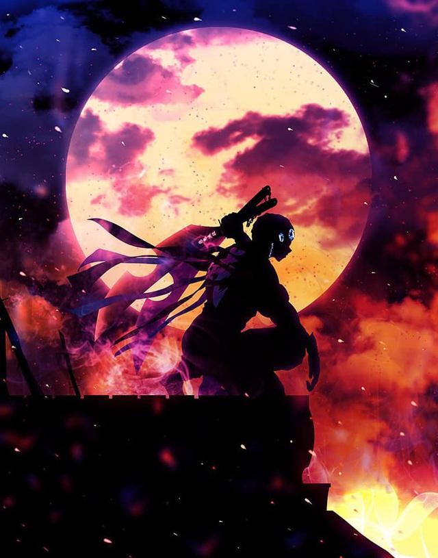 Phát sốt khi ngắm loạt fan art Kimetsu no Yaiba đầy ma mị, cảm giác như lạc vào cõi khác - Ảnh 8.