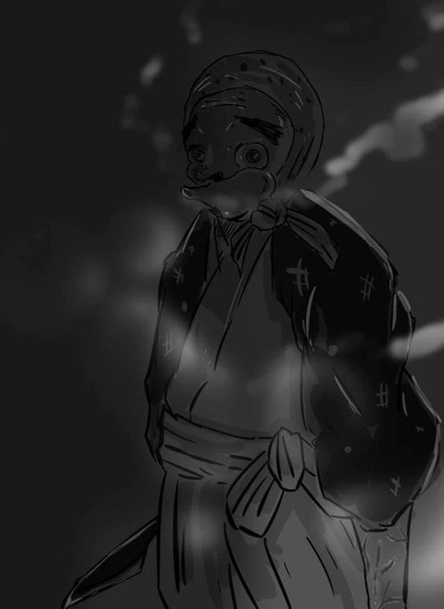 Phát sốt khi ngắm loạt fan art Kimetsu no Yaiba đầy ma mị, cảm giác như lạc vào cõi khác - Ảnh 12.