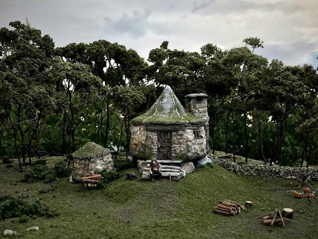 Quá đam mê Harry Potter, ông bố 4 con tự tạo ra mô hình thế giới phù thủy độc nhất vô nhị - Ảnh 7.
