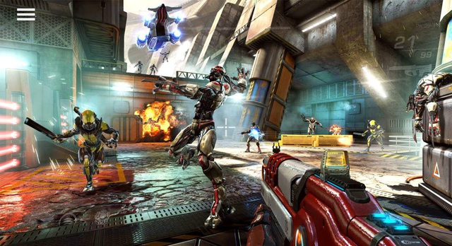 Call Of Duty Mobile có thể bị đánh bại bởi tựa game Shadowgun War Game sắp được ra mắt trong thời gian tới - Ảnh 1.