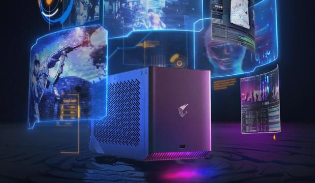 Gigabyte giới thiệu chiếc hộp thần kỳ AORUS Gaming Box biến laptop trở nên mạnh như máy bàn - Ảnh 1.