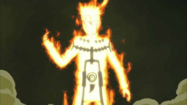 Naruto: 6 trạng thái biến đổi thành Jinchuriki của Hokage đệ Thất - Ảnh 4.