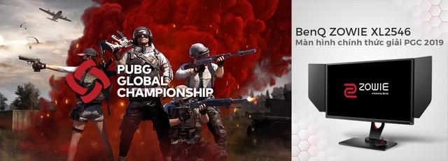 BenQ ZOWIE XL2546 trở thành màn hình thi đấu chính thức của giải đấu PUBG Global Championship 2019 - Ảnh 2.