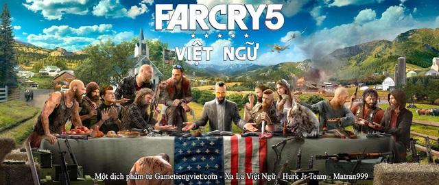 Sau 2 năm chờ đợi, siêu phẩm Farcry 5 đã có bản Việt ngữ - Ảnh 2.