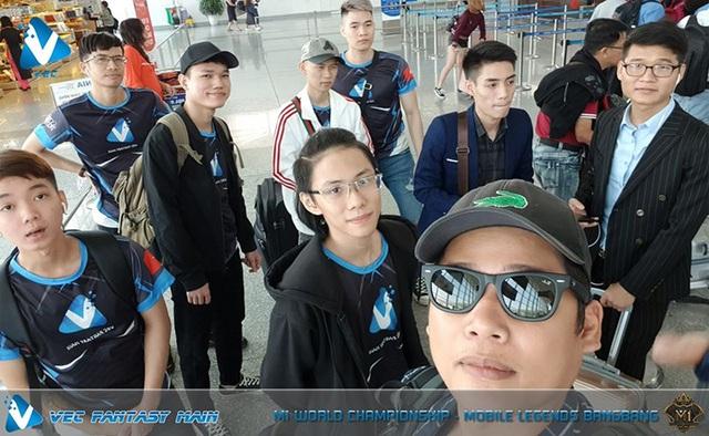 VEC Fantasy Main đang trên đường sang Malaysia để thi đấu Mobile Legends: Bang Bang World Championship 2019 – M1 - Ảnh 4.