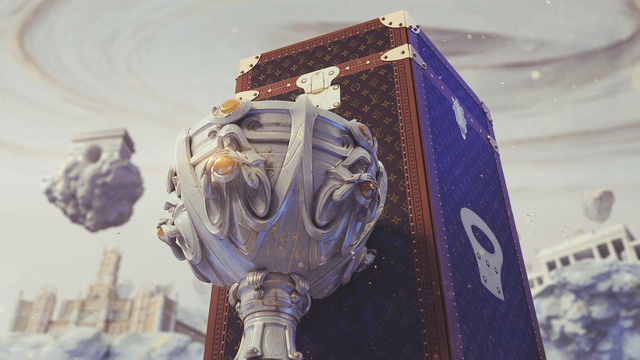 LMHT: Lộ diện hộp đựng cup vô địch CKTG 2019 Louis Vuitton, trận Chung kết thế giới sẽ ngập tràn hàng hiệu - Ảnh 2.