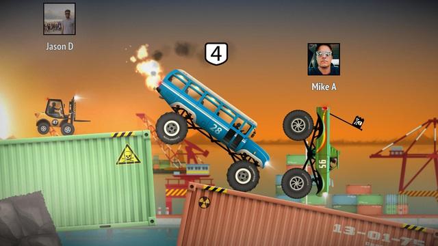 Renegade Racing - Game đua xe lộn tu siêu hài hước sắp có mặt trên nền tảng di động - Ảnh 2.