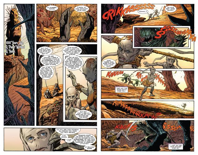 Marvel Comics: Gorr - Kẻ Sát Thần bao phủ cả vũ trụ như Zamasu trong Dragon Ball? - Ảnh 2.