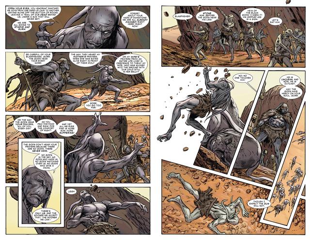 Marvel Comics: Gorr - Kẻ Sát Thần bao phủ cả vũ trụ như Zamasu trong Dragon Ball? - Ảnh 3.