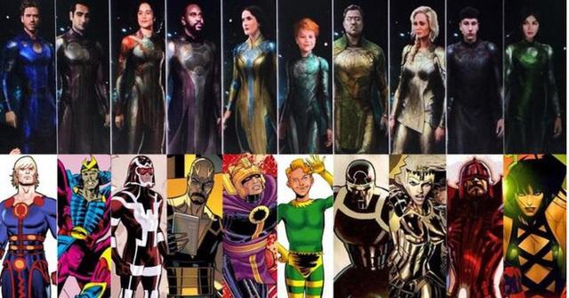 Marvel hé lộ tạo hình chính thức của Eternals, tuyên bố đây sẽ là phần phim tái định nghĩa lại MCU trong tương lai - Ảnh 3.