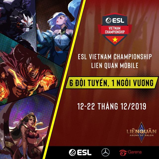 ESL Vietnam xin được trân trọng công bố giải đấu ESL Vietnam Championship - Liên Quân Mobile, được tài trợ bởi Mercedes-Benz - Ảnh 1.
