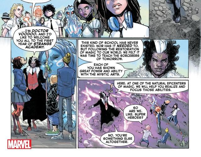 Thật không thể tin nổi, Dr. Strange sẽ trở thành... Hiệu trưởng của trường Hogwarts? - Ảnh 5.