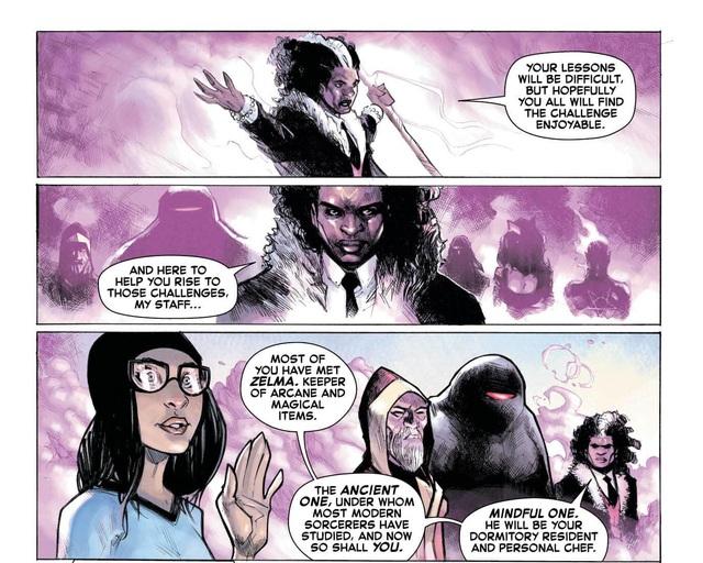 Thật không thể tin nổi, Dr. Strange sẽ trở thành... Hiệu trưởng của trường Hogwarts? - Ảnh 6.