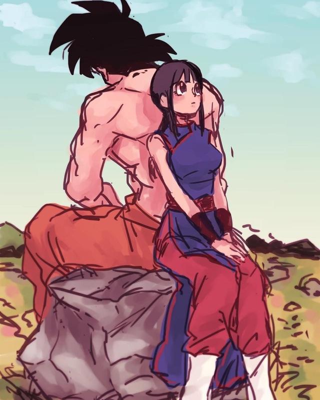 Ngắm loạt fan art mùi mẫn, sướt mướt của các cặp đôi nổi tiếng trong Dragon Ball chỉ thèm có gấu ngay - Ảnh 14.