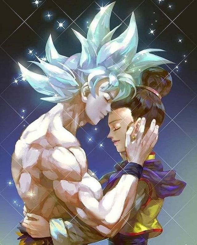 Ngắm loạt fan art mùi mẫn, sướt mướt của các cặp đôi nổi tiếng trong Dragon Ball chỉ thèm có gấu ngay - Ảnh 12.