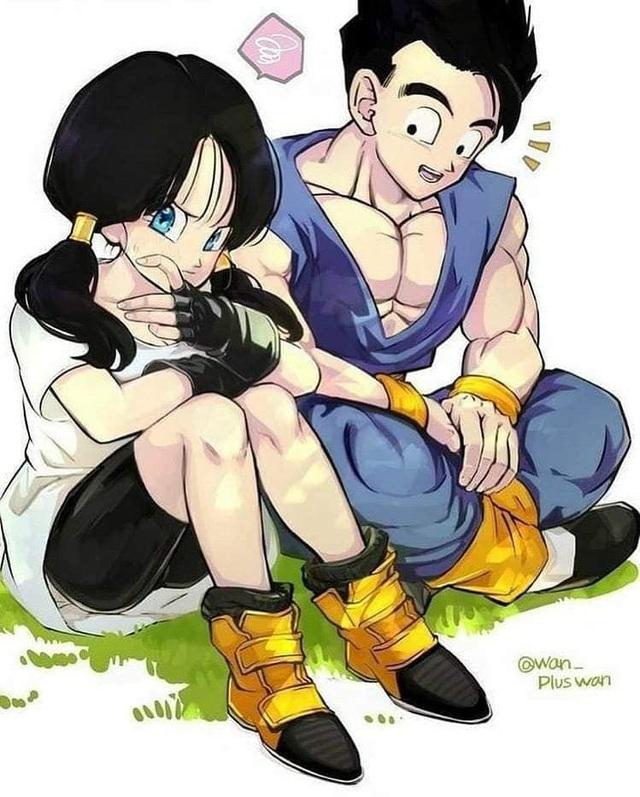 Ngắm loạt fan art mùi mẫn, sướt mướt của các cặp đôi nổi tiếng trong Dragon Ball chỉ thèm có gấu ngay - Ảnh 9.