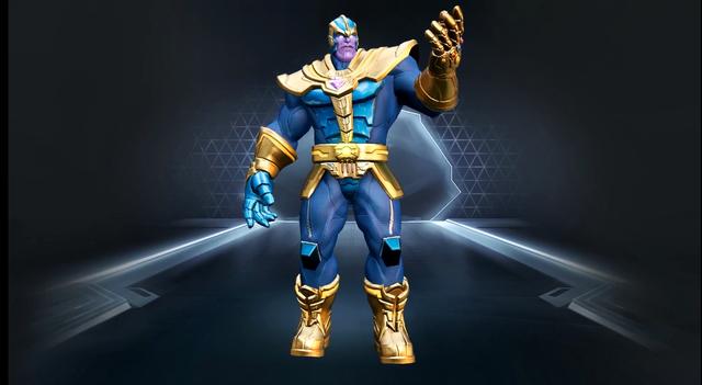 MARVEL Super War - đối thủ nặng ký của Liên Quân Mobile trình làng tướng Thanos với 4 ô kỹ năng - Ảnh 2.