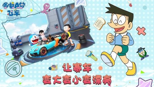 Doraemon Kart - Game mèo máy thông minh đua xe siêu sáng tạo - Ảnh 4.