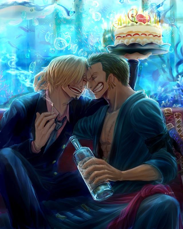 One Piece: Chán cà khịa, bộ đôi quái vật của băng Mũ Rơm bất ngờ anh anh em em - Ảnh 17.