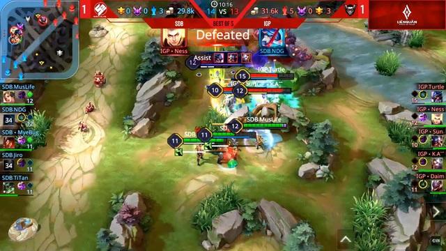 ESL Vietnam Championship - Liên Quân Mobile diễn ra ngày một hấp dẫn với vòng playoffs HTVC IGP Gaming đối đầu với EVOS Esports - Ảnh 1.