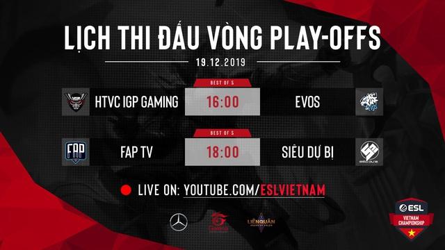 ESL Vietnam Championship - Liên Quân Mobile diễn ra ngày một hấp dẫn với vòng playoffs HTVC IGP Gaming đối đầu với EVOS Esports - Ảnh 5.
