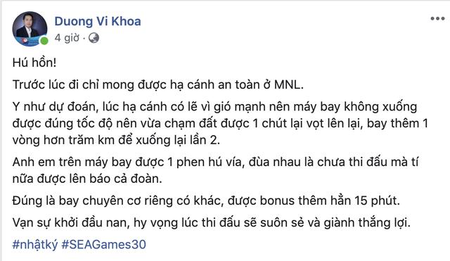 Sau chuyến bay hú hồn, đội tuyển quốc gia Mobile Legends Việt Nam đã đặt chân an toàn tới Philippines - Ảnh 2.