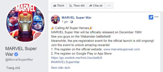MARVEL Super War công bố ngày ra mắt chính thức, các tín đồ MOBA mobile chuẩn bị di cư - Ảnh 2.