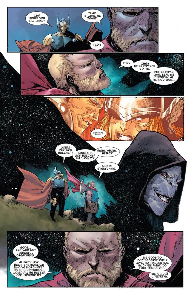 Bất xứng với Mjolnir thêm lần nữa, Thor là Thần Sấm hay Thần Nhọ? - Ảnh 2.