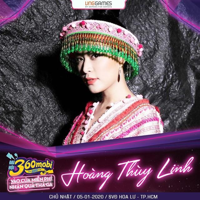 """Đại hội 360mobi 2020: Hoàng Thùy Linh, Karik và hàng loạt sao lớn của showbiz Việt """"đổ bộ sự kiện Game đầu năm mới - Ảnh 3."""