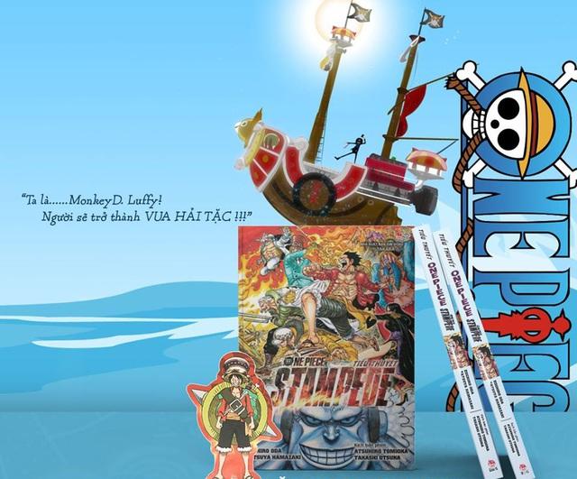 Ra mắt tiểu thuyết One Piece: Stampede, fan có dịp thưởng thức cùng lúc với movie! - Ảnh 5.
