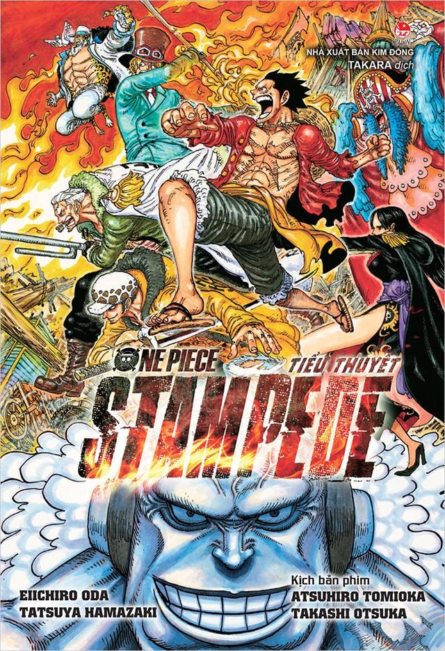 Ra mắt tiểu thuyết One Piece: Stampede, fan có dịp thưởng thức cùng lúc với movie! - Ảnh 2.