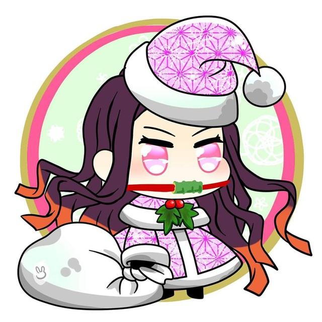 Hòa cùng không khí Noel, dàn nhân vật trong Kimetsu no Yaiba diện trang phục Giáng Sinh cực yêu - Ảnh 3.