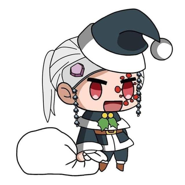 Hòa cùng không khí Noel, dàn nhân vật trong Kimetsu no Yaiba diện trang phục Giáng Sinh cực yêu - Ảnh 19.