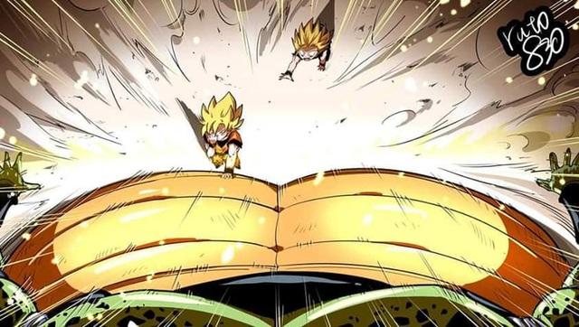 Mãn nhãn khi xem lại các cảnh chiến đấu trong Dragon Ball theo góc nhìn trực diện của các nhân vật - Ảnh 12.