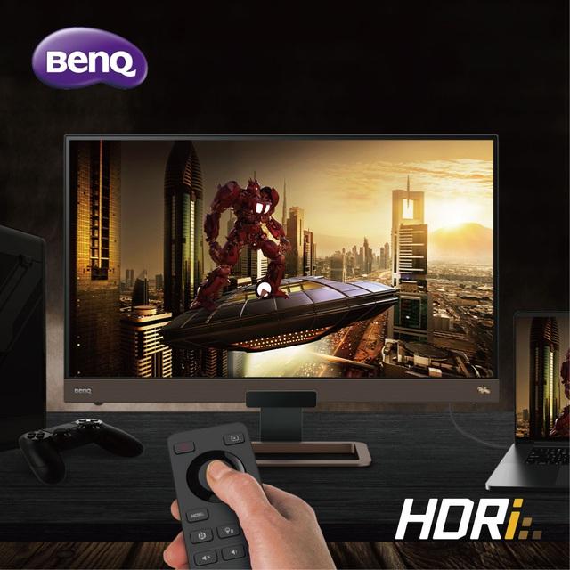 BenQ EX2780Q 144Hz - Màn hình chơi game đỉnh cao với công nghệ HDRi hàng đầu thế giới - Ảnh 1.