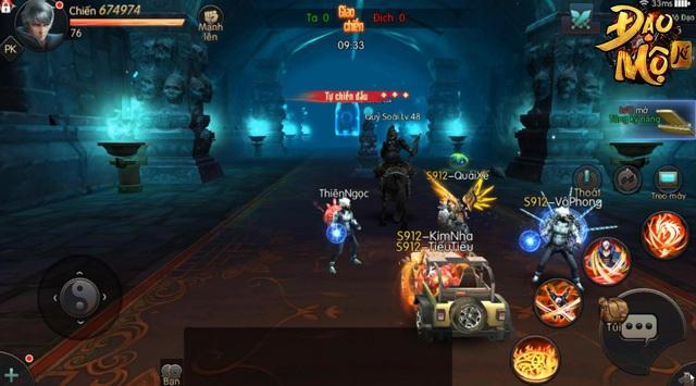 Trải nghiệm cực đỉnh sinh tồn trong game nhập vai thế giới mở Đạo Mộ Ký Mobile ra mắt cuối tháng 12 - Ảnh 2.
