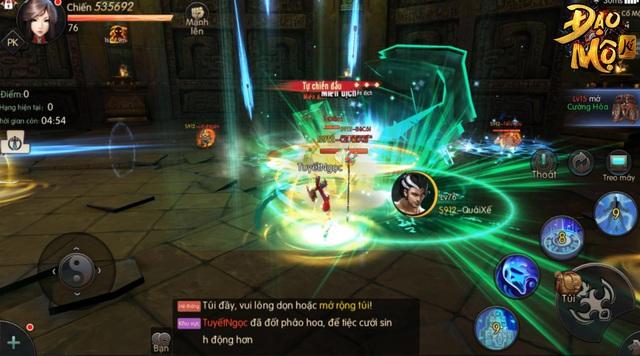 Trải nghiệm cực đỉnh sinh tồn trong game nhập vai thế giới mở Đạo Mộ Ký Mobile ra mắt cuối tháng 12 - Ảnh 3.