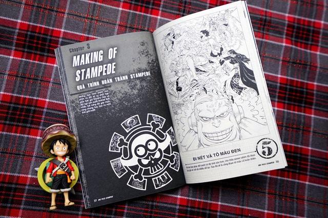 Săn đón One Piece vol 10089 - Ấn phẩm giới hạn về quá trình làm Movie Stampede - Ảnh 7.