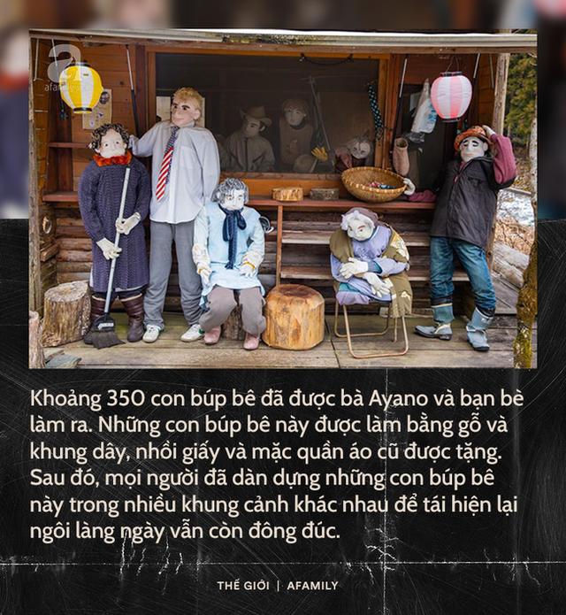 Ngôi làng vắng bóng trẻ thơ tại Nhật Bản: 18 năm không có một đứa trẻ nào ra đời, số búp bê nhiều gấp 10 lần số dân làng - Ảnh 2.