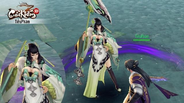 Tựa game này nên được gắn mác 18+: NPC vòng 1 90%, game thủ nữ thì toàn váy khoét sâu khoe cái khe chết chóc - Ảnh 1.