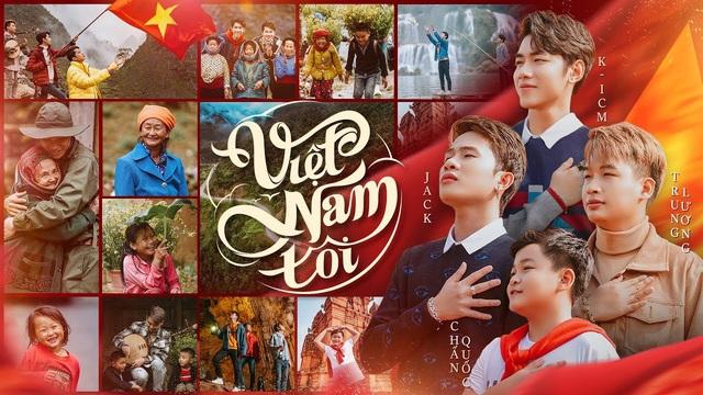 Jack & K-ICM ra mắt MV ủng hộ Đoàn thể thao Việt Nam - Ảnh 2.